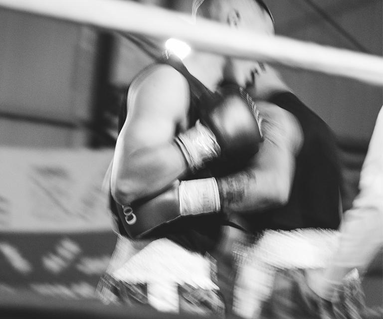 Gimnasio de boxeo en Estación Constitución