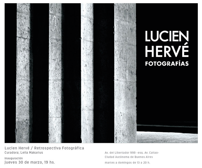 LUCIEN HERVÉ / retrospectiva fotográfica