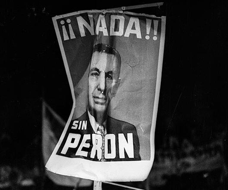 """""""Perón"""" de Sara Facio"""
