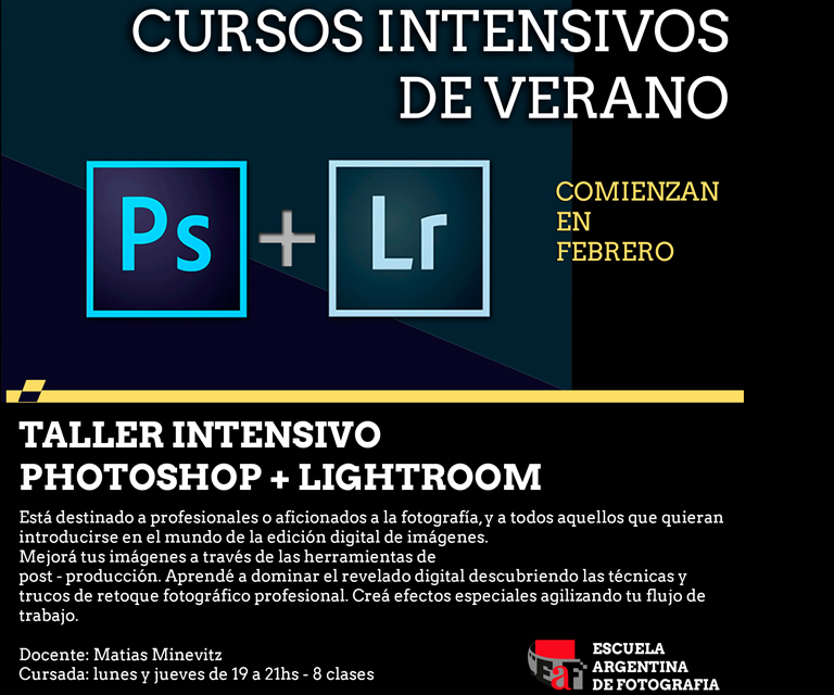 Curso Photoshop + Lightroom