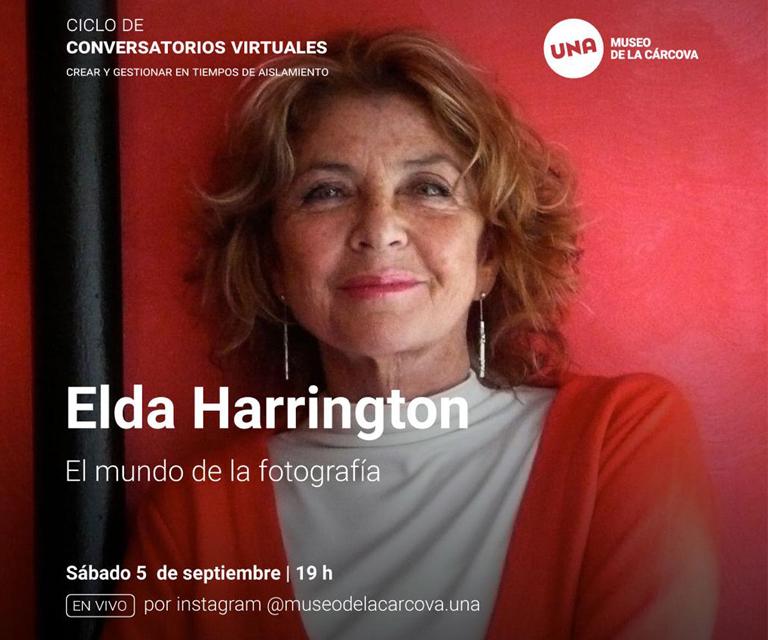 Conversatorio virtual de Elda Harrington