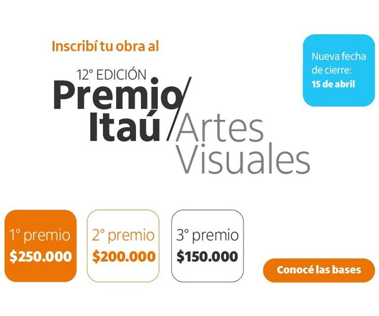 12ª. Premio Itaú de Artes Visuales 2020-2021