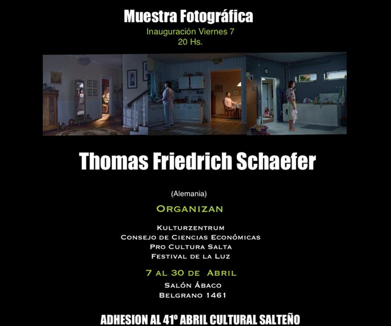 Muestra fotográfica de Thomas Friedrich Schaefer