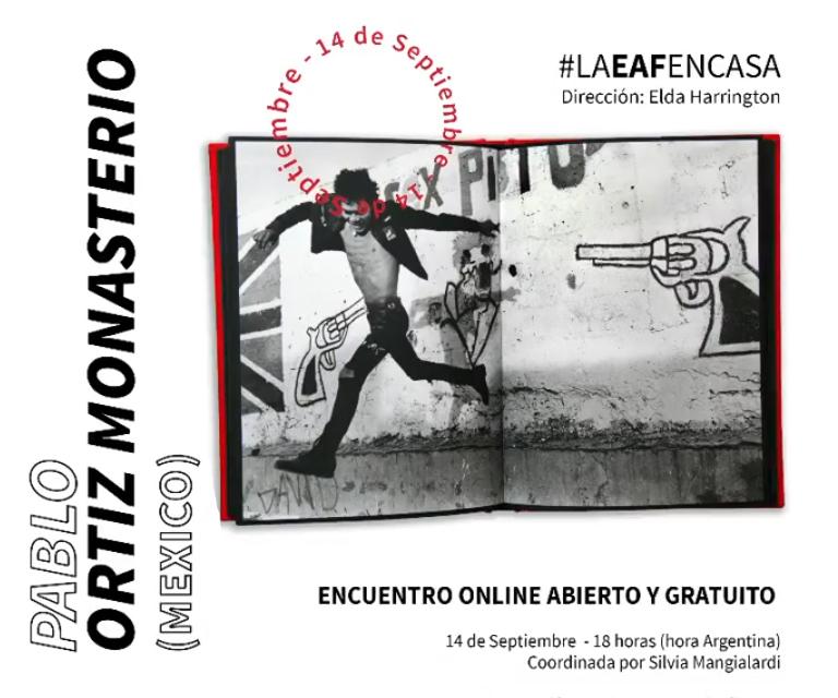 Charlas EAF -  Pablo Ortiz Monasterio (México)