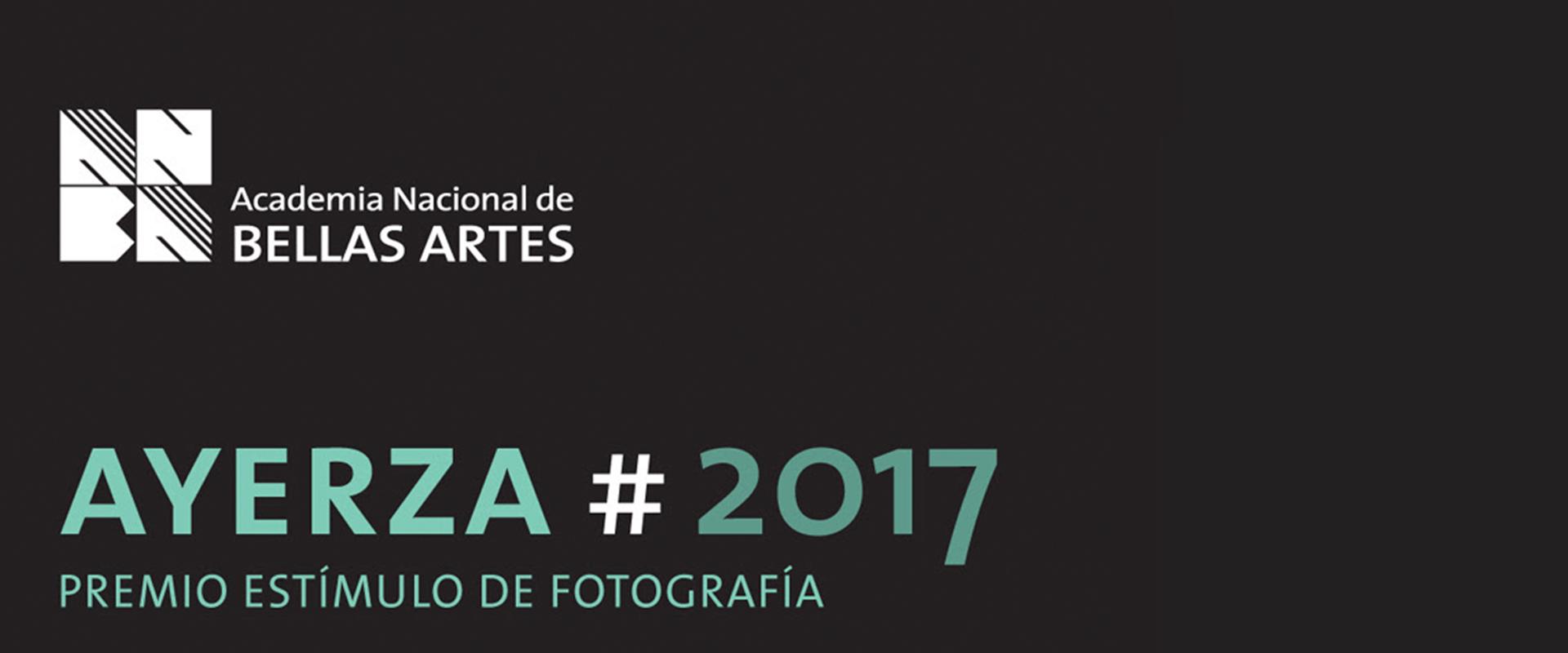 Premio Estímulo de Fotografía