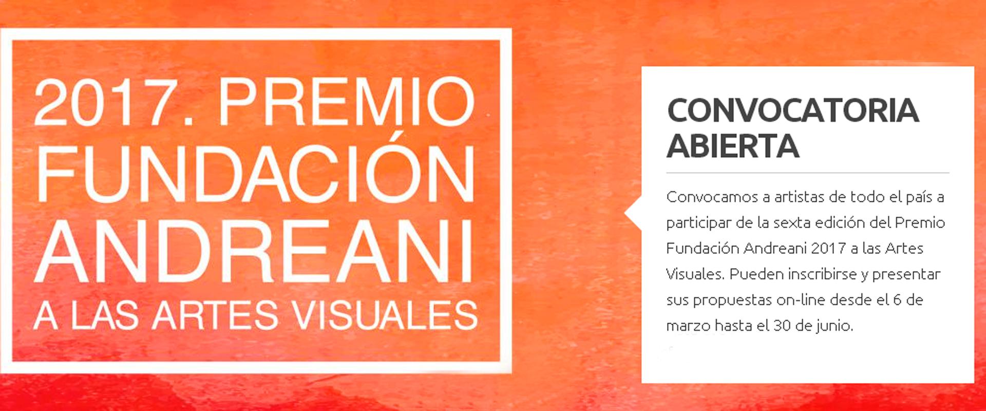 Premio Fundación Andreani 2017